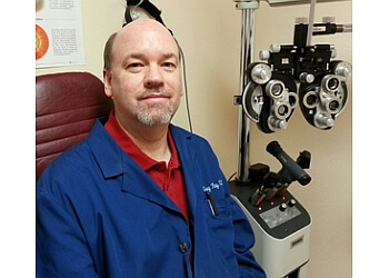 Clarksville pediatric optometrist Dr. Gregory E. Ray, OD