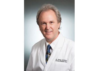 Mobile eye doctor Dr. Gregory R. Jackson, OD