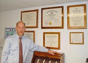 New Haven pediatric optometrist Dr. Henry B. Samson, OD