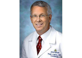Baltimore cardiologist Hugh Calkins, MD