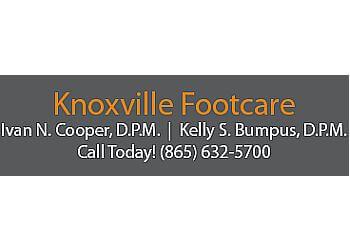 Knoxville podiatrist Dr. Ivan N. Cooper, DPM, ACFAS, ABFAS - Dr. Kelly S. Bumpus, DPM