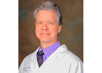 Mobile pediatrician Dr. James B. Harrell, MD