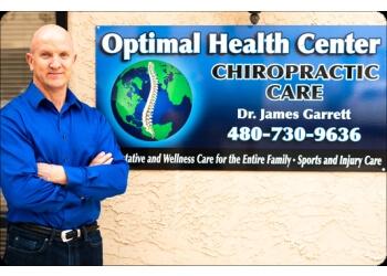 Tempe chiropractor Dr. James Garrett DC - Optimal Health Center