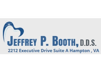 Hampton dentist Dr. Jeffrey P. Booth, DDS