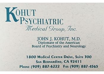 San Bernardino psychiatrist John Joel Kohut, MD