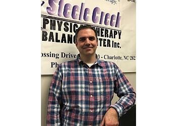 Charlotte physical therapist Dr. Jon M. Morrissette, DPT, MTC, CLT, ITPT