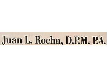 Brownsville podiatrist Dr. Juan L. Rocha, DPM