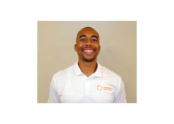 Atlanta physical therapist Lamar Frasier, DPT, CSCS, CKTP, CPT