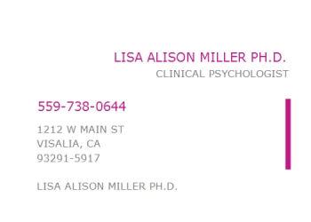 Visalia psychologist Dr. Lisa A. Miller, Ph.D