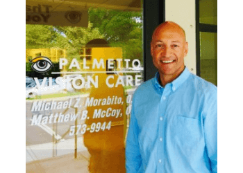 Charleston eye doctor Dr. Michael Z. Morabito, OD