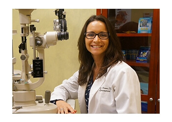 Jacksonville pediatric optometrist Dr. Monica M. Brown, OD