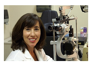 Mobile pediatric optometrist Dr. Nuria B. King, OD