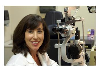 Mobile pediatric optometrist Dr. Nuria B. King, OD