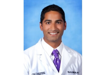 Newport News pain management doctor Raj N. Sureja, MD