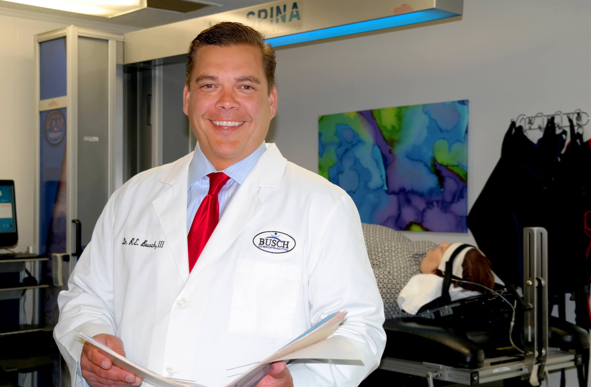 Fort Wayne chiropractor Dr. Richard E. Busch