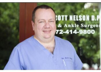 Garland podiatrist Dr. Scott Nelson, DPM