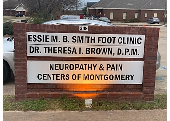 Montgomery podiatrist Dr. Theresa I. Brown, DPM