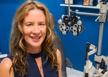 Springfield pediatric optometrist Dr. Tonya Bourn, OD
