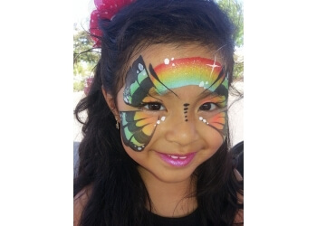 Santa Clarita face painting Dragonflylola Artistry