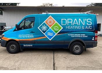 Newport News hvac service Dran's Heating & A/C