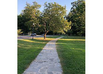 Baltimore hiking trail Druid Hill Park Trail
