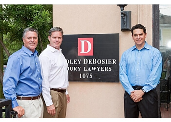 New Orleans personal injury lawyer Dudley DeBosier