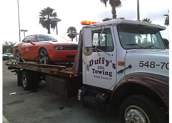 St Petersburg towing company Duffy's 24hr Towing