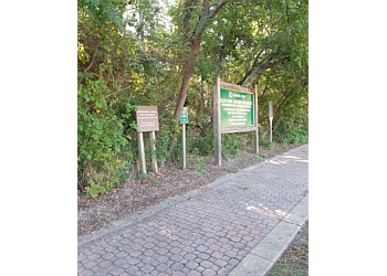 Carrollton hiking trail ELM FORK NATURE PRESERVE TRAIL ENTRANCE