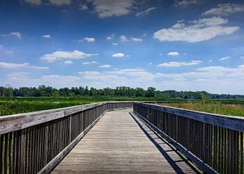 Fort Wayne hiking trail Eagle Marsh Nature Preserve