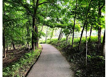 Newark hiking trail Eagle Rock Reservation