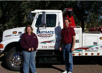 Sioux Falls towing company EASTGATE TOWING & STORAGE INC.