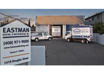 San Jose roofing contractor Eastman Roofing & Waterproofing, Inc.
