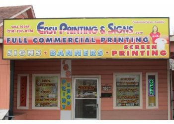 San Antonio printing service Easy Printing & Signs