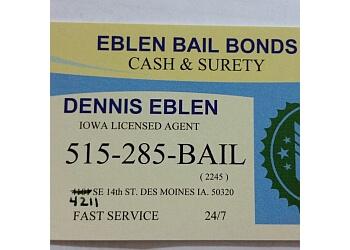 Des Moines bail bond Eblen Bail Bonds
