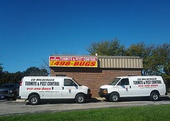 Kansas City pest control company Ed Milberger termite & Pest Control