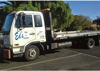 Sunnyvale towing company Ed's Tow & Cradle