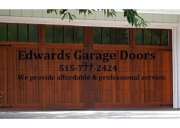 Des Moines garage door repair Edwards Garage Doors