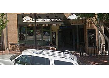 Athens bagel shop Einstein Bros. Bagels