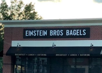 Atlanta bagel shop Einstein Bros. Bagels