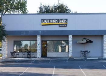 Austin bagel shop Einstein Bros. Bagels