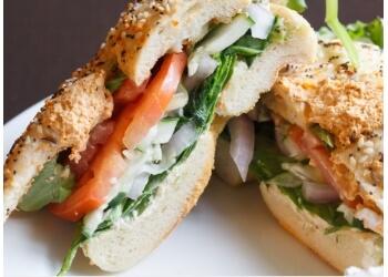 Garland bagel shop Einstein Bros. Bagels