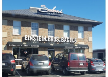 Indianapolis bagel shop Einstein Bros. Bagels