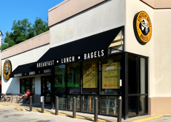 Kansas City bagel shop Einstein Bros. Bagels