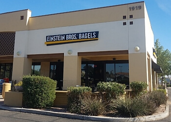 Mesa bagel shop Einstein Bros. Bagels