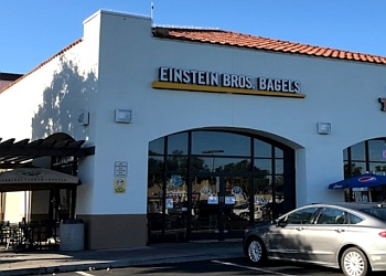 Oceanside bagel shop Einstein Bros Bagels