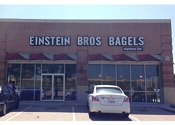 Plano bagel shop Einstein Bros. Bagels