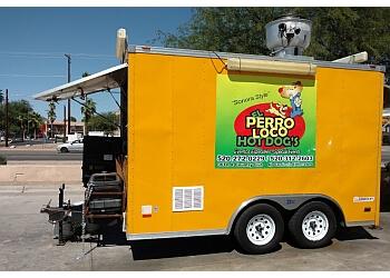 Tucson food truck El Perro Loco Hot Dogs