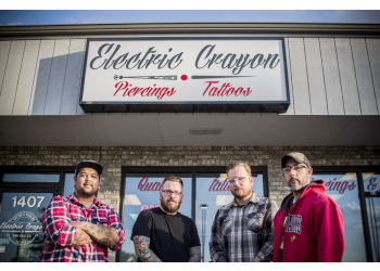 Sioux Falls tattoo shop Electric Crayon