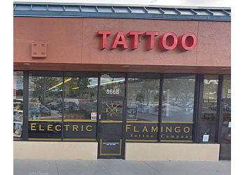 Miramar tattoo shop Electric Flamingo Tattoo Co.