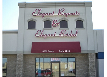 Cedar Rapids bridal shop Elegant Repeats & Elegant Bridal & Formal